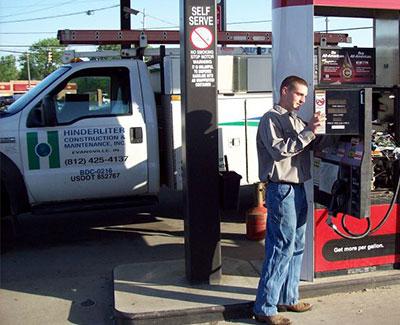Hinderliter Construction Gas Station Maintenance Services